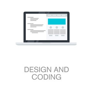 website design coding development